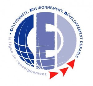 Logo label CED